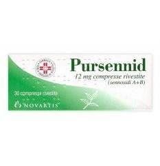 PURSENNID 30CPR RIV 12MG