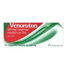 VENORUTON 30CPR RIV 500MG