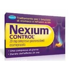 NEXIUM CONTROL 14CPR GAST 20MG