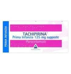 TACHIPIRINA PR INF 10SUP 125MG