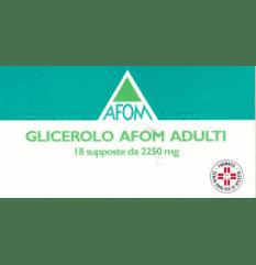 GLICEROLO AFOM AD 18SUPP2250MG