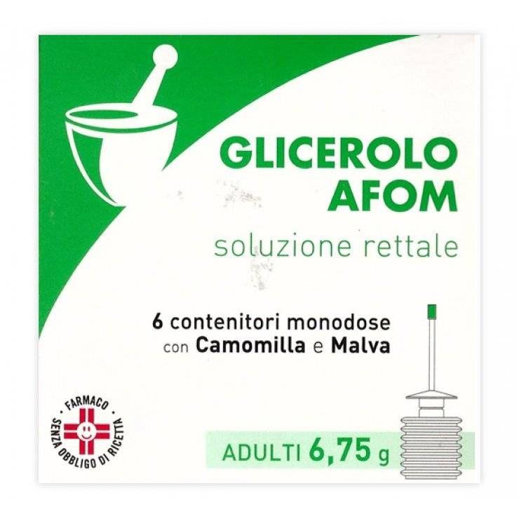 GLICEROLO AFOM AD 6CONT 6,75G