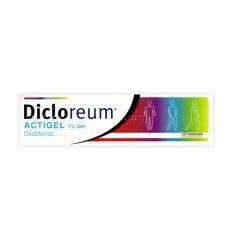 DICLOREUM ACTIGEL GEL 100G 1%