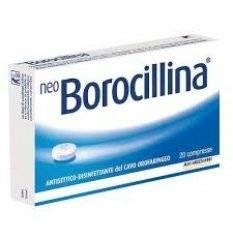 NEOBOROCILLINA 20PAST 1,2+20MG