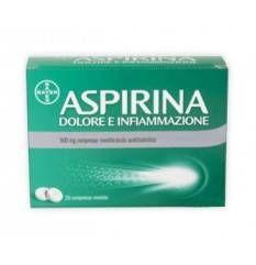 ASPIRINA DOLORE INF 8CPR 500MG