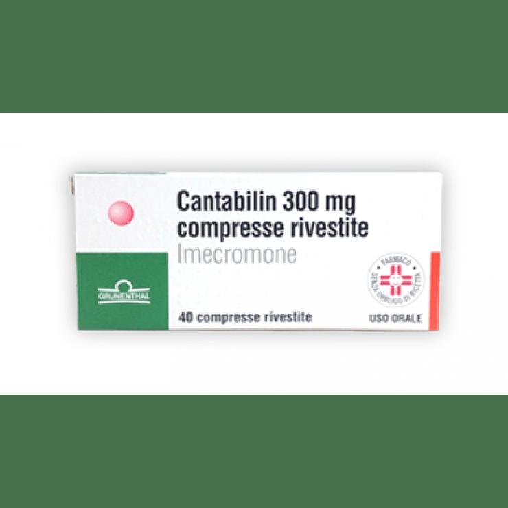 CANTABILIN 40CPR RIV 300MG