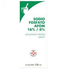 SODIO FOSFATO AFOM 120ML+CAN