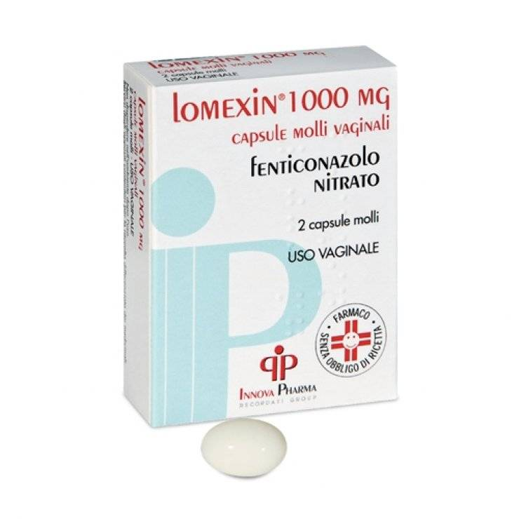 LOMEXIN 2CPS MOLLI VAG 1000MG