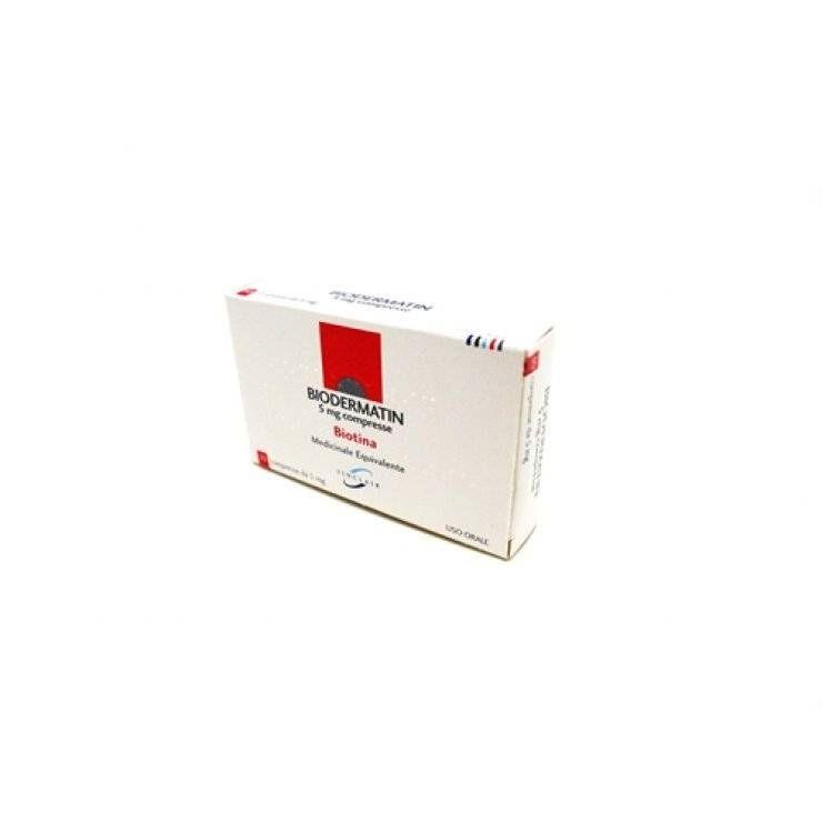 BIODERMATIN 30CPR 5MG