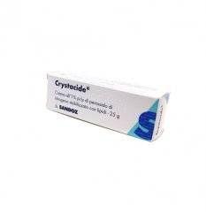 CRYSTACIDE CREMA 25G 1%