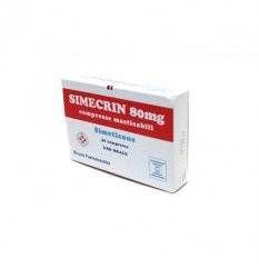 SIMECRIN 30CPR MAST 80MG