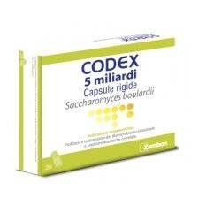 CODEX 20CPS 5MLD 250MG BLISTER