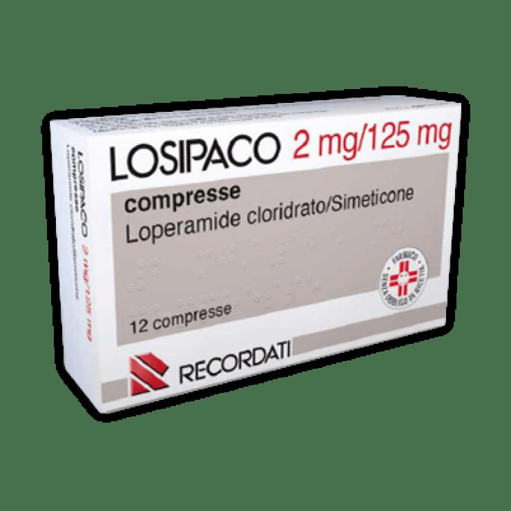 LOSIPACO 12CPR 2MG+125MG