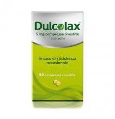 DULCOLAX 40CPR RIV 5MG