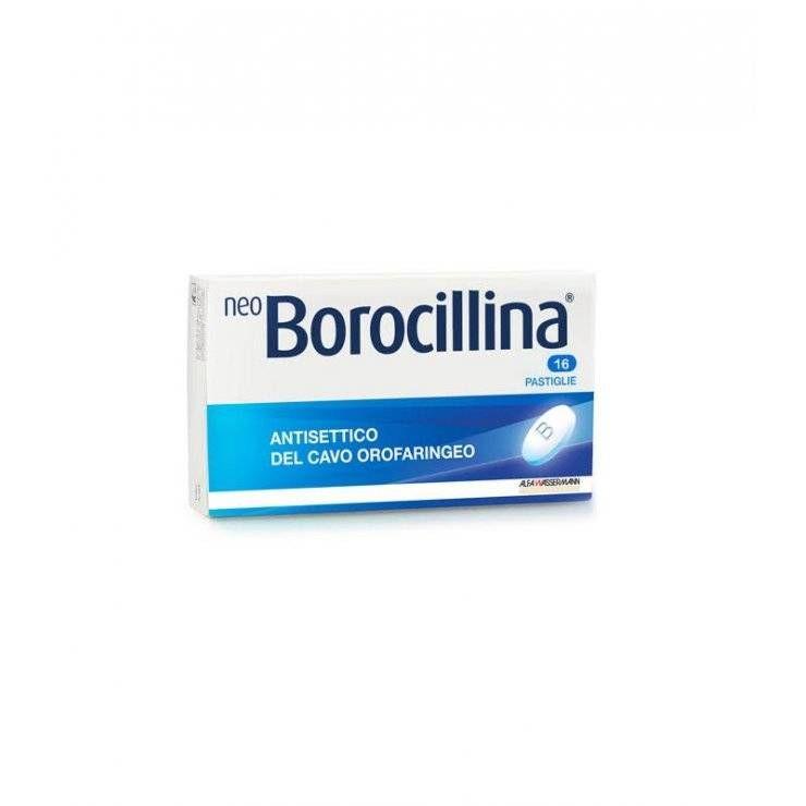 NEOBOROCILLINA 16PAST 1,2+20MG