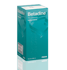 BETADINE COLLUT FL 200ML 1%
