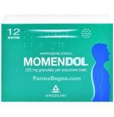 MOMENDOL OS GRAT 12BUST 220MG