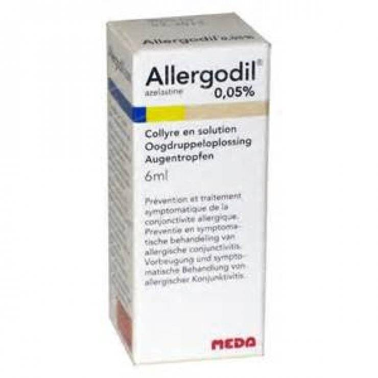 ALLERGODIL COLL FL 6ML 0,05%