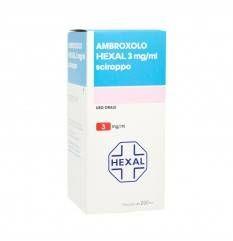 AMBROXOLO HEXAL SCIR FL 250ML