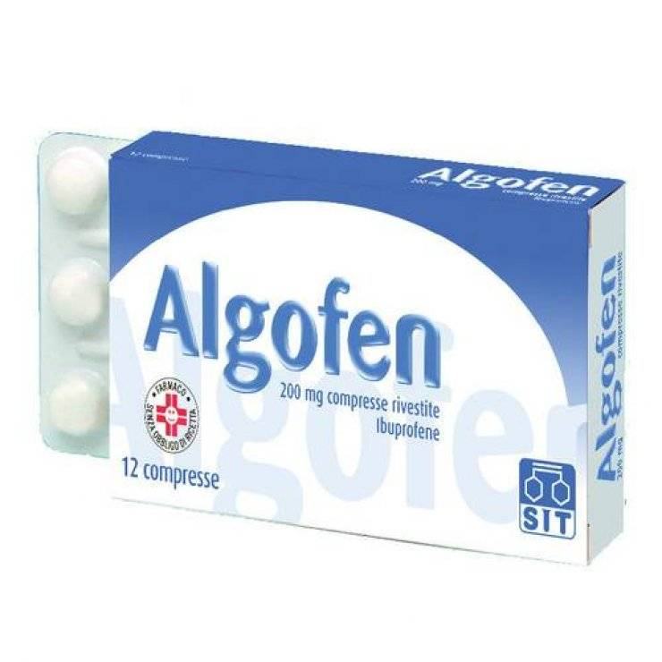 ALGOFEN 24CPR RIV 200MG