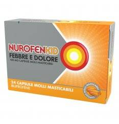 NUROFENKID FEBBRE D 24CPS100MG