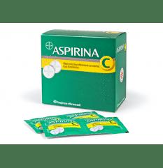 ASPIRINA C 40CPR EFF 400+240MG