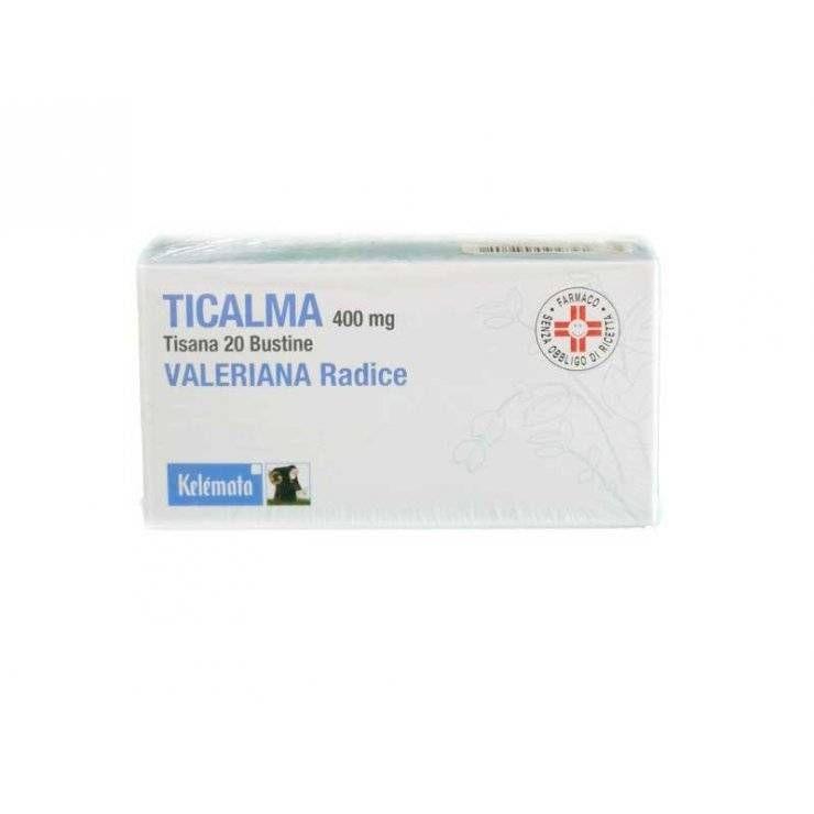 TICALMA OS 20BUST 400MG FILTRO