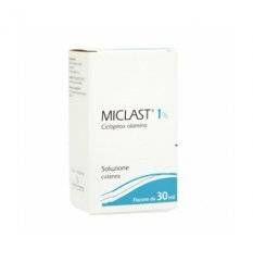 MICLAST SOL CUT FL 30ML 1%