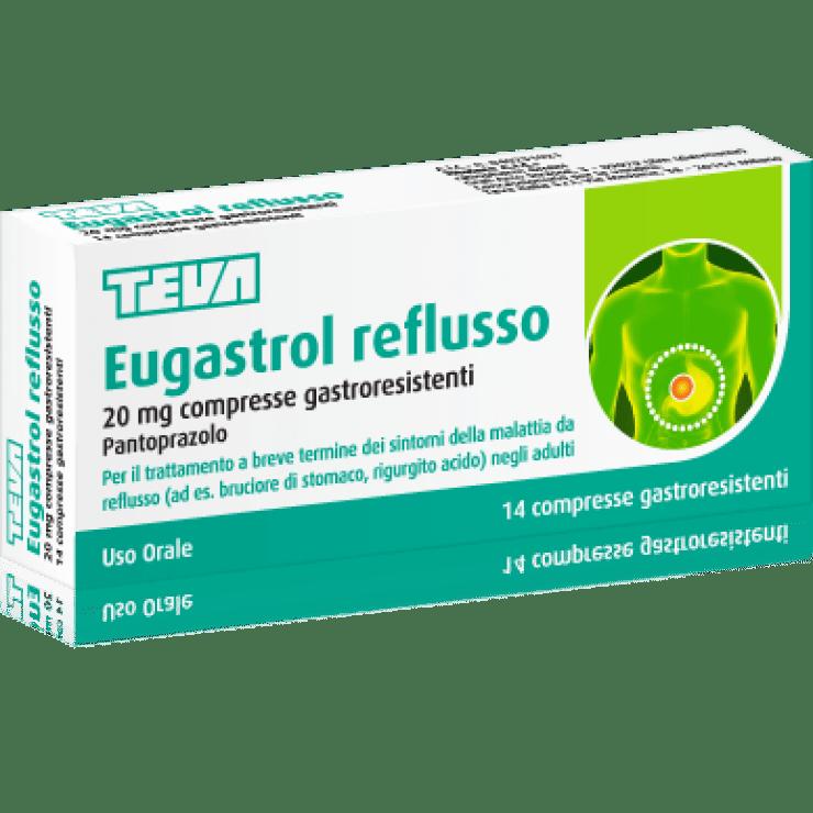 EUGASTROL REFLUSSO 14CPR 20MG