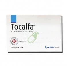 TOCALFA 20CPS MOLLI 50000UI+50