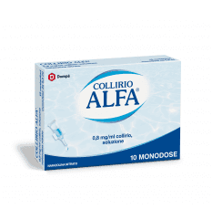 COLLIRIO ALFA DEC 10CONT 0,3ML