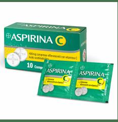 ASPIRINA C 10CPR EFF 400+240MG