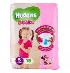HUGGIES BASE GIRL 5 15PZ<<<