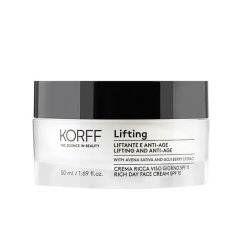 Crema Ricca Giorno Effetto Lifting SPF 15 - Korff - 50ml - crema giorno con effetto lifting immediato