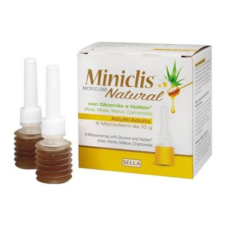 MINICLIS NATURAL MD AD 6PZ