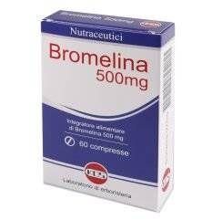 BROMELINA 500MG 60CPR KOS