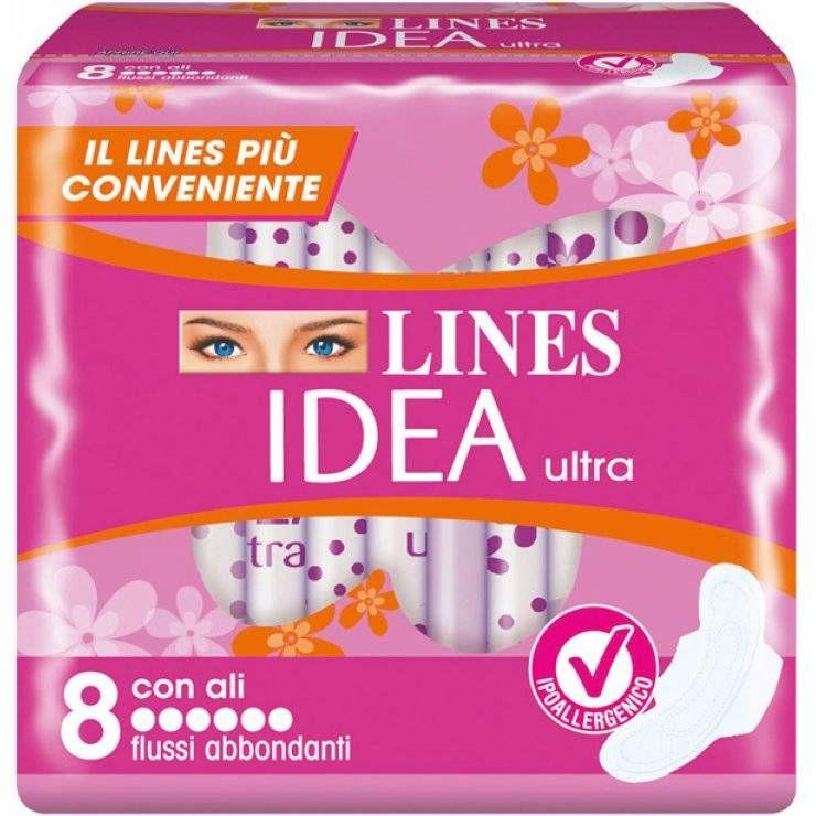 IDEA ULTRA FLUSSI ABB C/ALI 8P