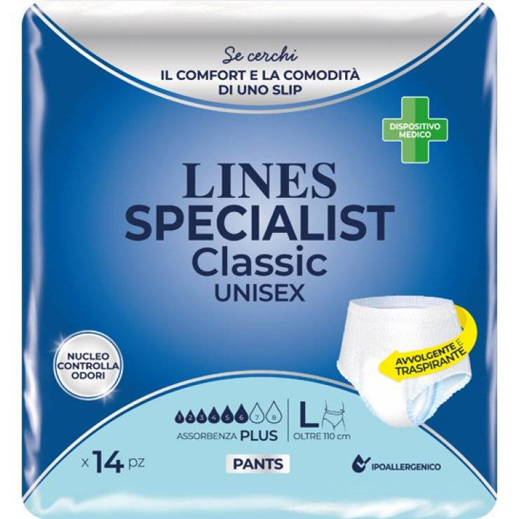 LINES SP CL PANTS PL L 14P 0310