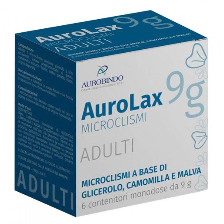 AUROLAX MICROCLISMIADULTI6PZ