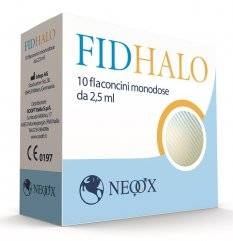 FIDHALO 10FL MONODOSE 2,5ML