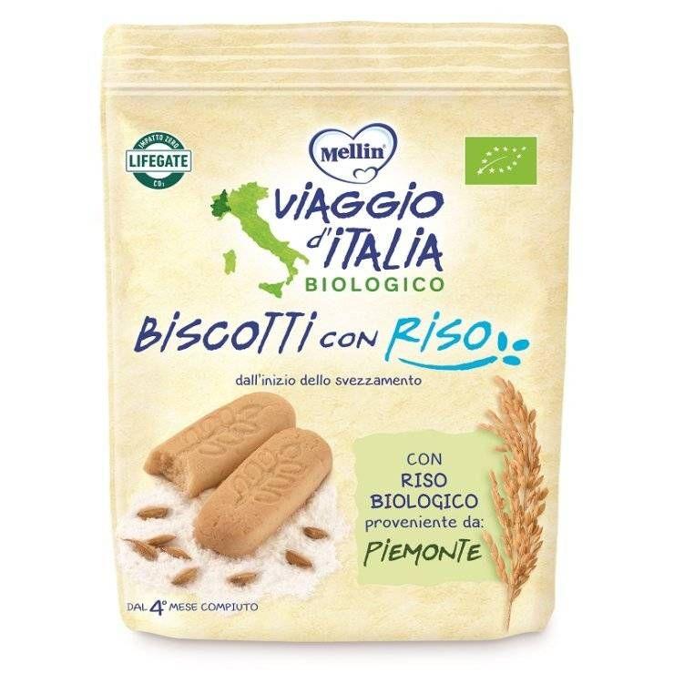 VIAGGIO ITALIA BISC RISO 150G