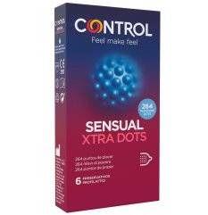 CONTROL SENSUAL XTRA DOTS 6PZ
